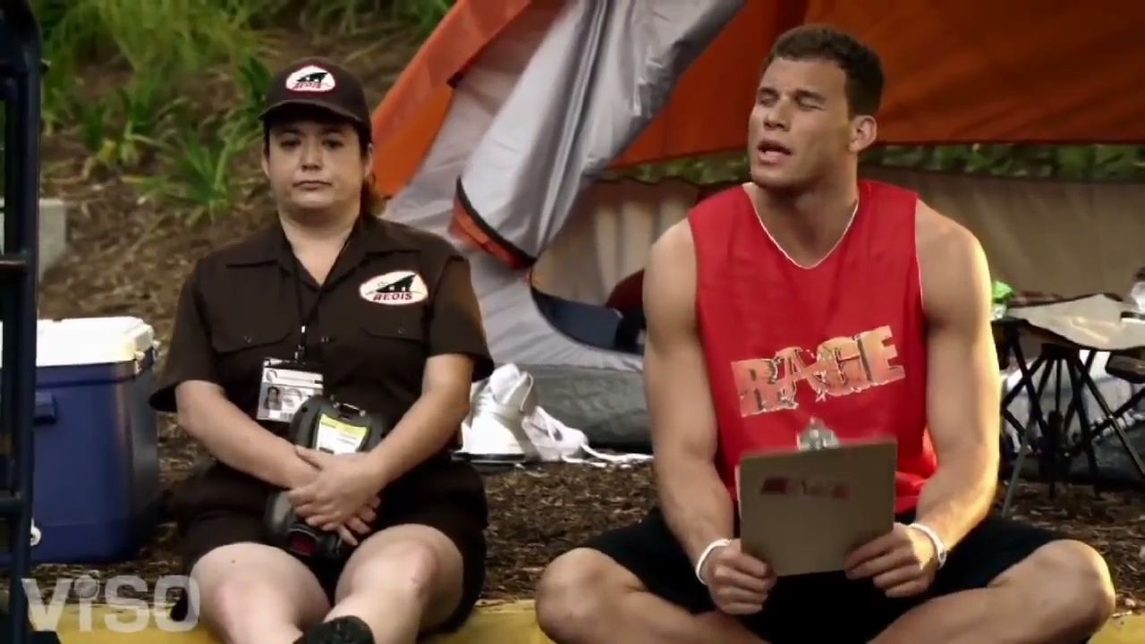 Rage Blake Griffin Commercial