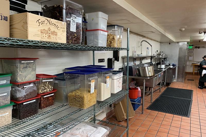 43. Basement Kitchen