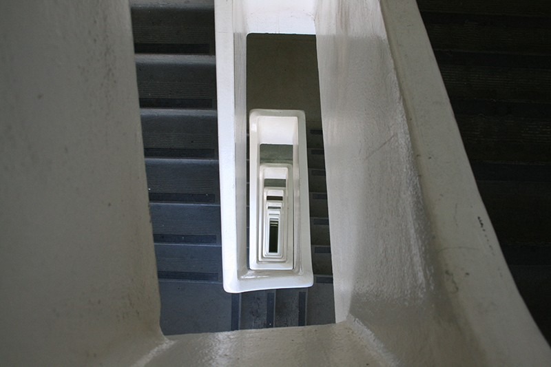 35. Rooftop Stairs