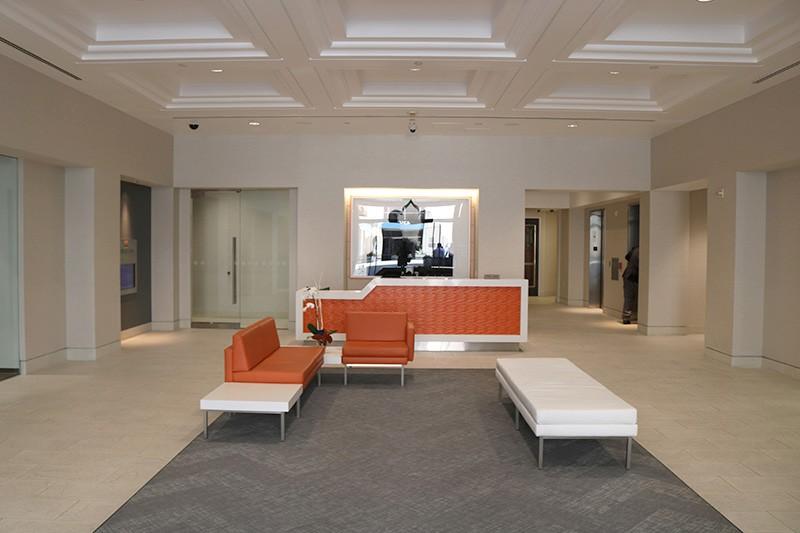 38. Lobby 400 N. Brand