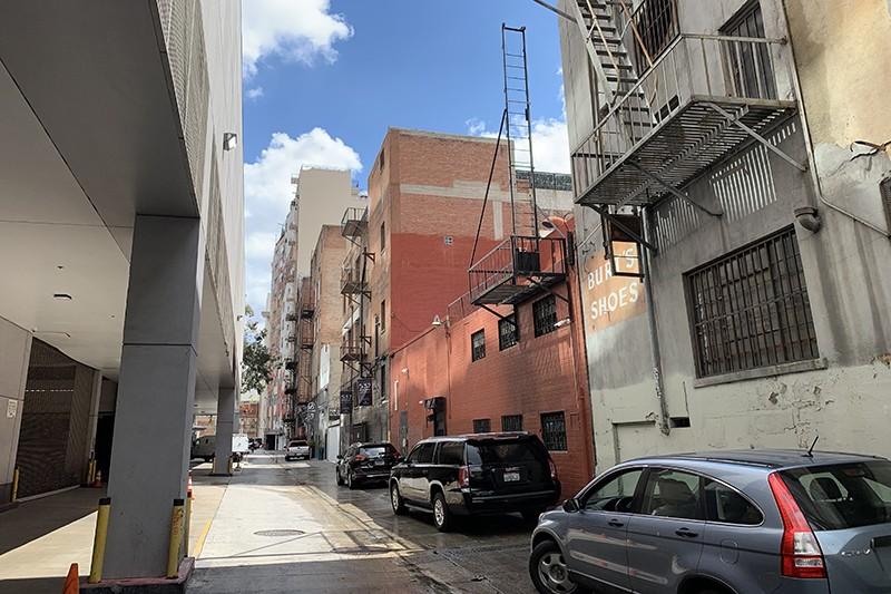 7. Exterior Alley