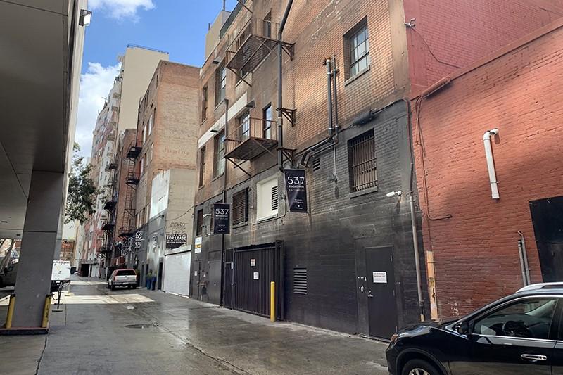 8. Exterior Alley