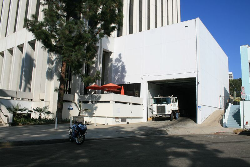 24. Exterior Loading Dock