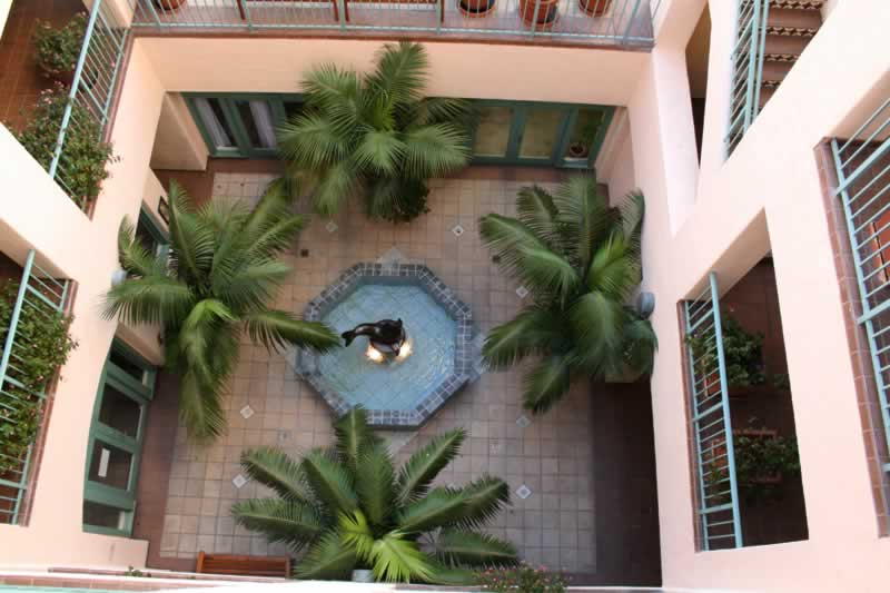 13. Courtyard