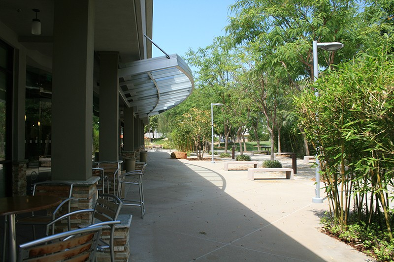 8. Exterior Plaza