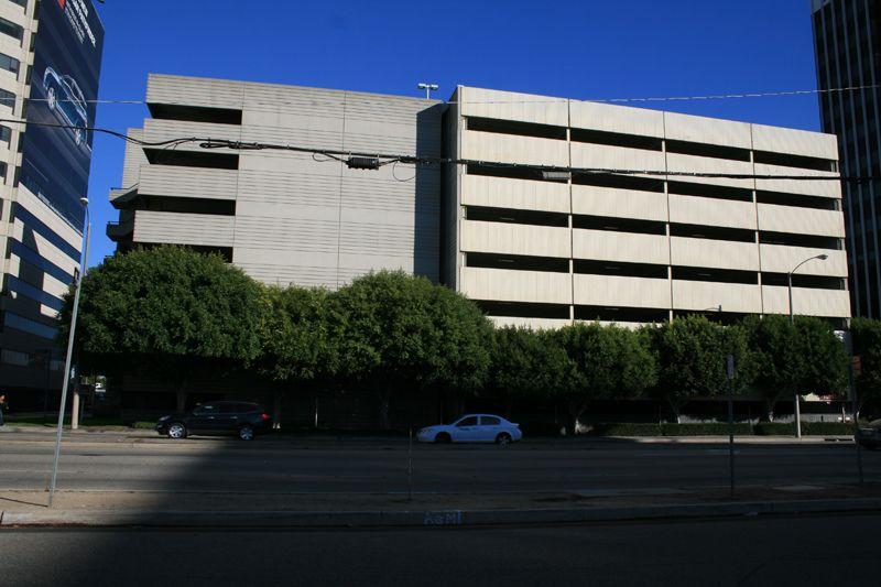 1. Exterior Parking Garage