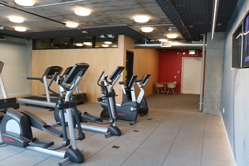 72. Mezzanine Level Gym