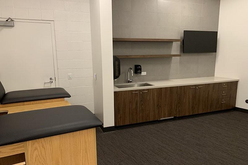 100. Locker Room