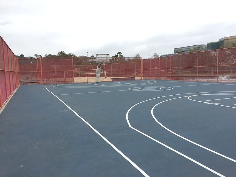 45. Basketball Court