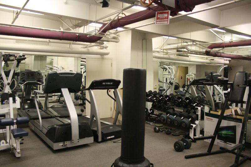 13. Basement Gym