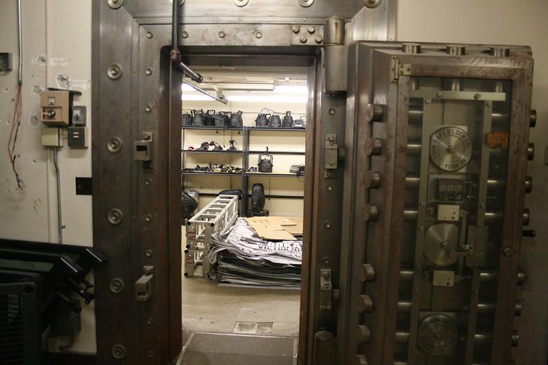 18. Basement Bank Vault