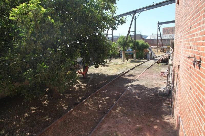 22. W. Rear Yard  & RR Tracks