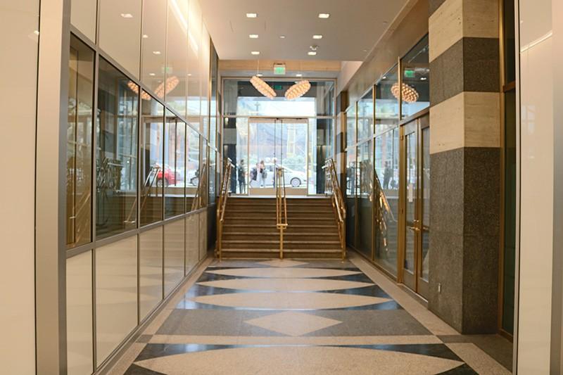 12. Street Level Lobby
