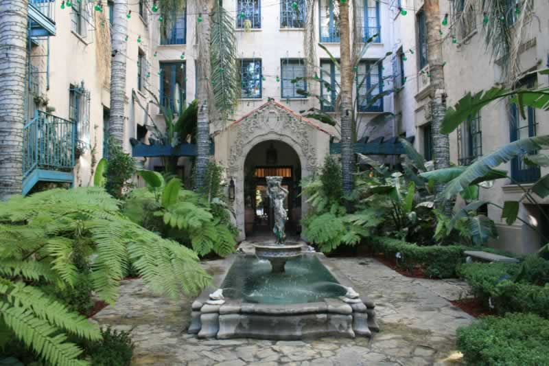 5. Courtyard