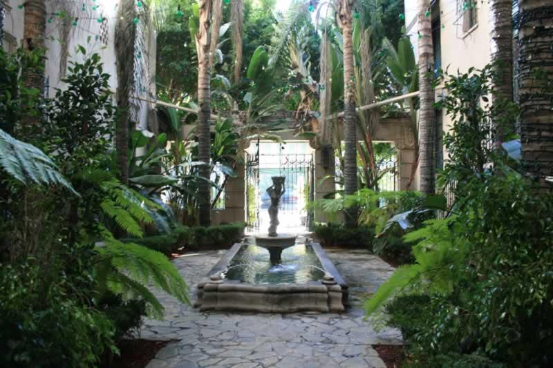 6. Courtyard