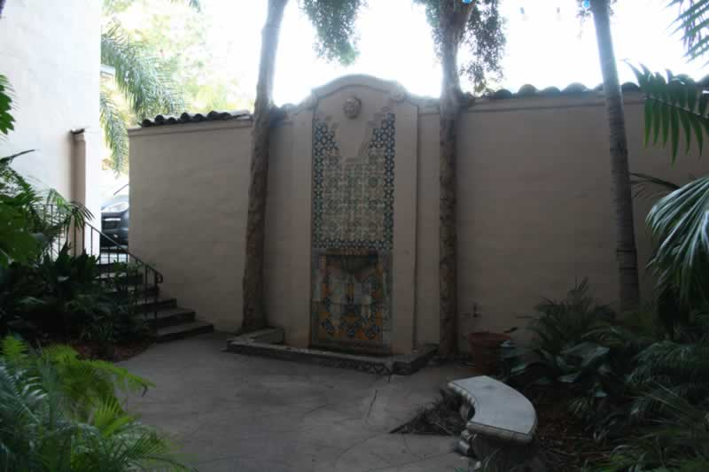 19. Back Courtyard