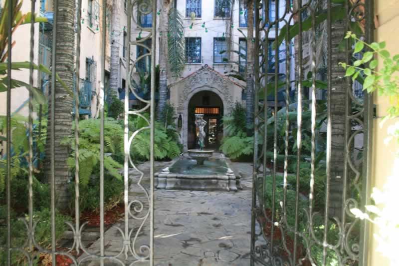 4. Courtyard