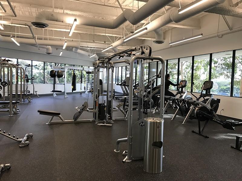 55. 1240 Bldg. Gym