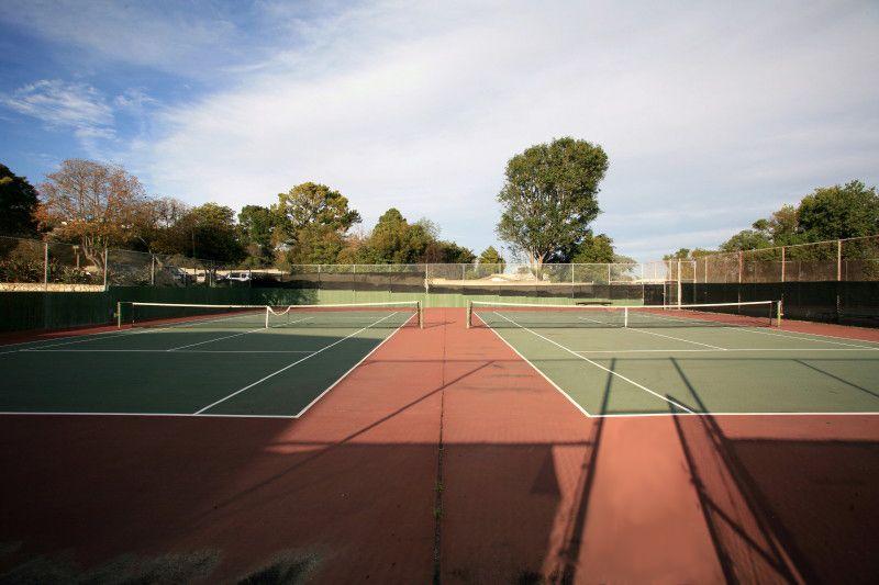 4. Tennis Courts